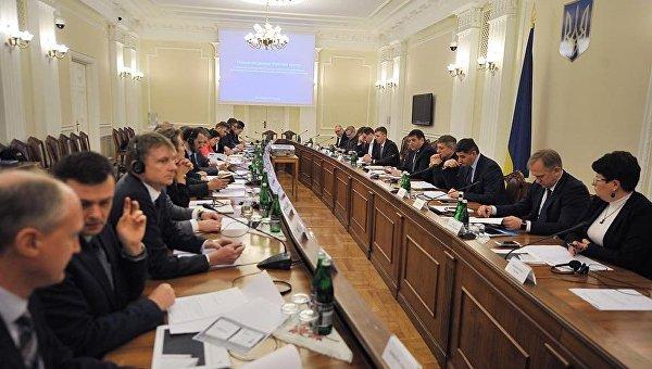 Первое заседание рабочей группы, которую правительство Украины уполномочило провести предварительные консультации с международными операторами магистральных газовых систем