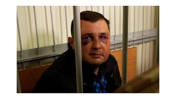 Избитый Александр Шепелев