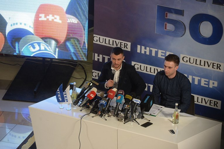 Пресс-конференция Василия Ломаченко в Киеве