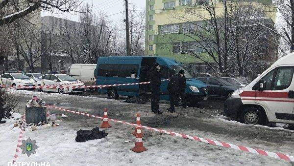 В Киеве в очереди на маршрутку убили человека