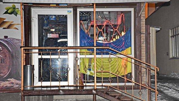 На месте стрельбы в Киеве