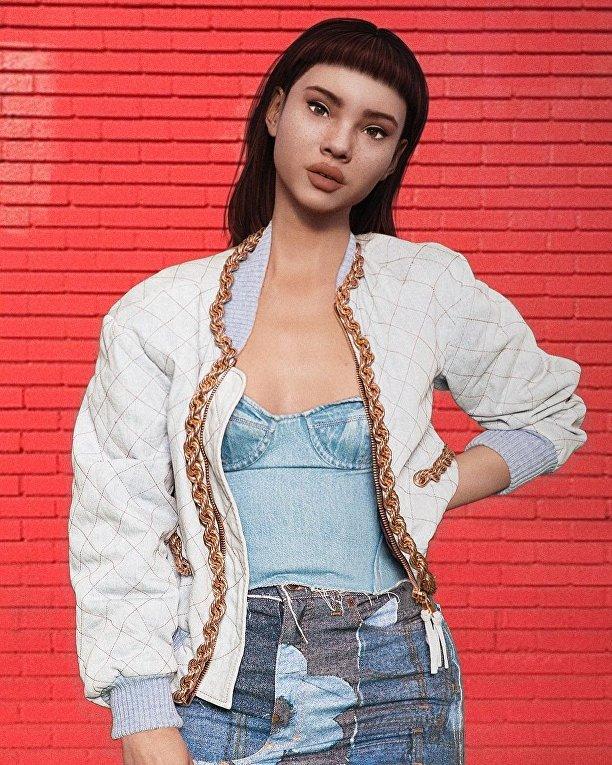 Виртуальная модель Lil Miquela