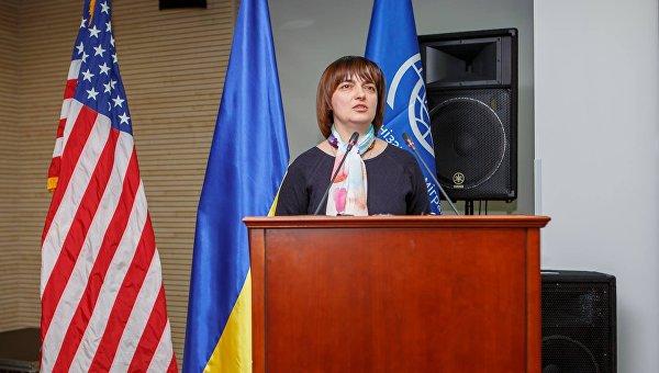 Заместитель министра социальной политики Украины Наталья Федорович
