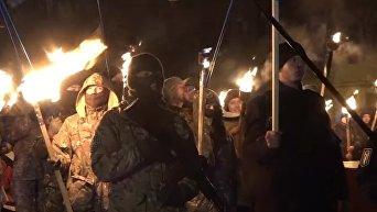Националисты провели в Одессе Марш правых традиций. Видео