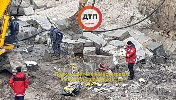 Смертельный инцидент на киевской стройке