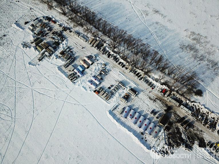 Последствия крушения Ан-148 в Московской области