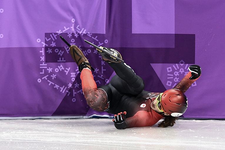 Яркие фото падений на Олимпиаде-2018