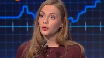 Елена Сотник о миротворцах в Донбассе. Видео