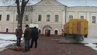 Музей Ивана Гончара залило кипятком