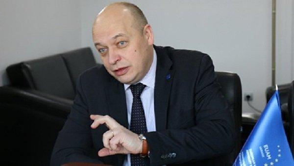 Глава Консультативной миссии Европейского союза Кястутис Ланчинскас