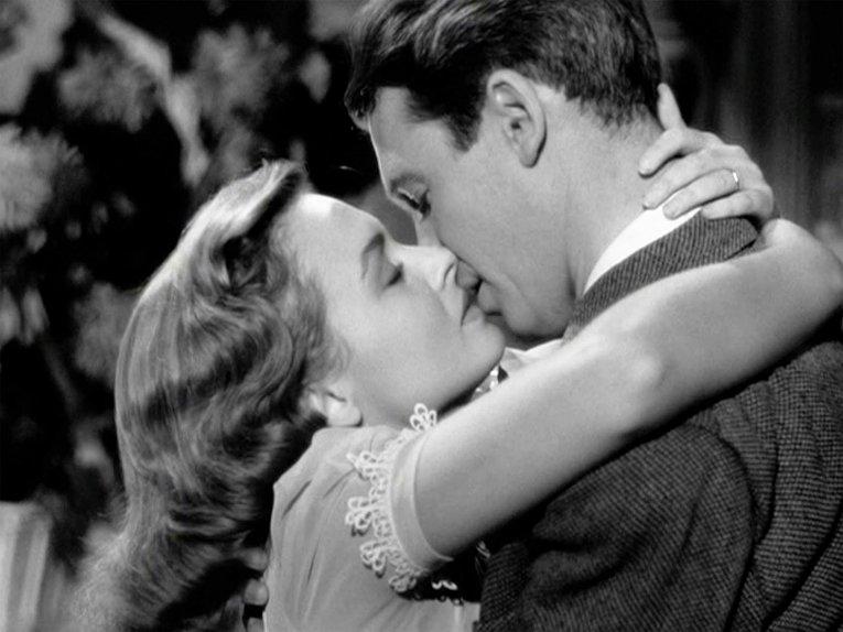 Эта замечательная жизнь. Поцелуй Джорджа и Мэри