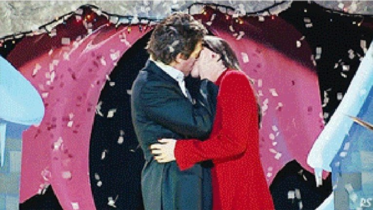 Реальная любовь. Поцелуй Хью Гранта и Мартины МакКачон