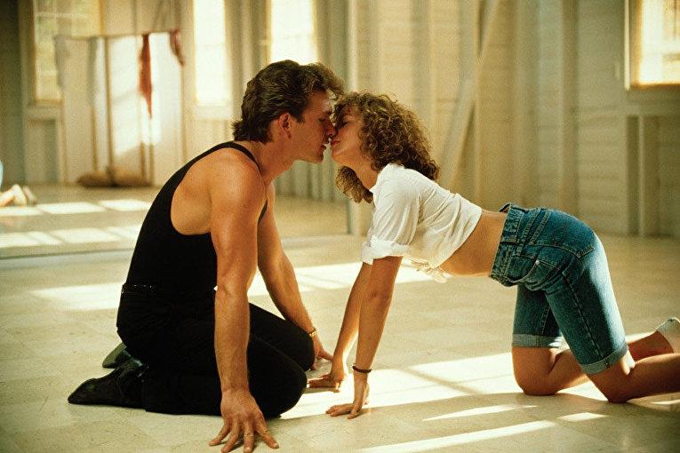 Грязные Танцы. Поцелуй в конце фильма