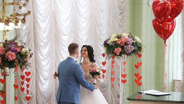 Свадебный бум в Украине в День святого Валентина