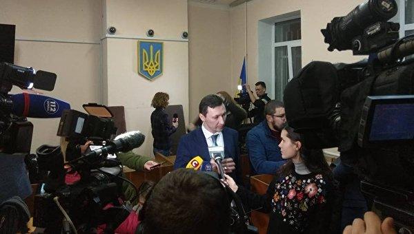 Заседание суда по избранию меры пресечения для Геннадия Труханова