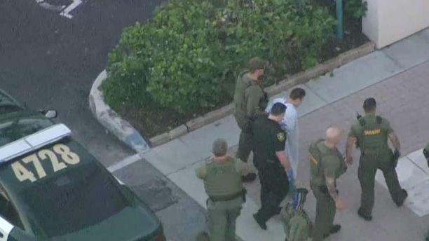 Стрельба в школе во Флориде. Задержание подозреваемого