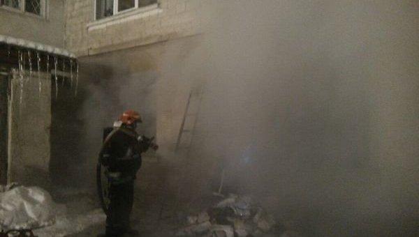 Пожар в больнице в Тернополе