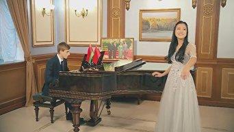 Сын Лукашенко поздравил китайцев с их Новым годом