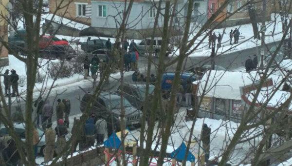Массовые беспорядки с участием незаконных копателей янтаря произошли в Ровенской области