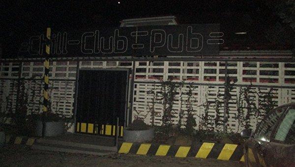 На месте стрельбы в ночном клубе Ужгорода