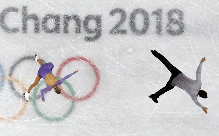 Олимпиада в Пхенчхане. Фигурное катание