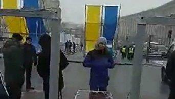 Попытка пройти к проекту Музея Майдана