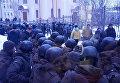 Суд с Трухановым окружен Нацгвардией, рядом собрались нацдружинники