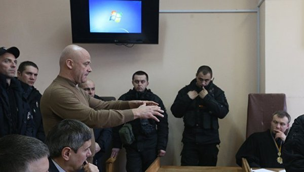 Геннадий Труханов на суде, 15 февраля 2018
