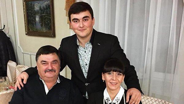 Погибшая семья кума Януковича