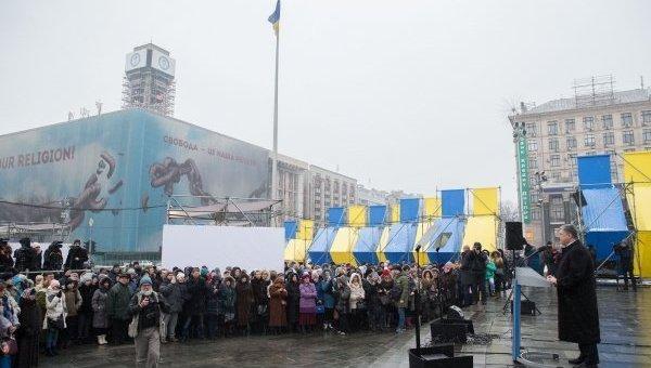 Петр Порошенко принял участие в презентации проектов Мемориала Героев Небесной Сотни и Музея Революции Достоинства