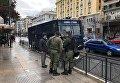 Полиция Греции на улицах Афин