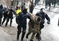 Столкновения возле Соломенского райсуда в Киеве