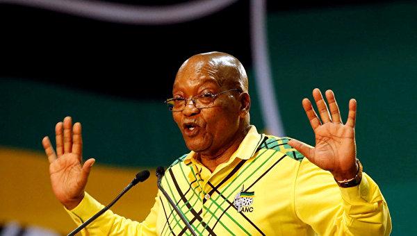 Джейкоб Гедлейихлекиса Зума — южноафриканский политический деятель, президент ЮАР