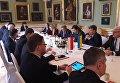 Переговоры украинской и польской делегации об антибандеровском законе