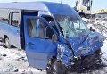 Маршутный автобус разбился на трассе Киев - Одесса под Глевахой