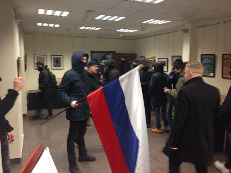 Погром в киевском офисе Россотрудничества