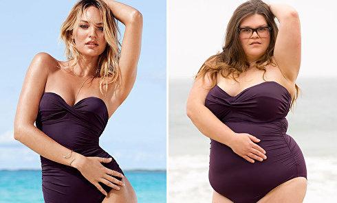 Как купальники Victoria's Secret сидят на обычных девушках