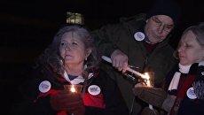 Сотни американцев вышли на протесты с призывом усилить контроль за оружием. Видео