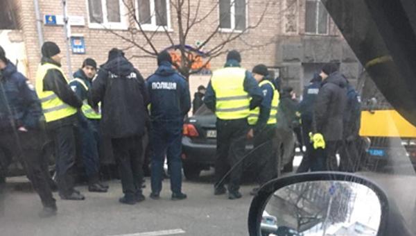 Центр Киева заполнен полицией и Нацгвардией