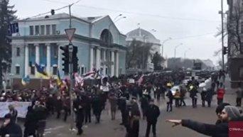 Марш за отставку Порошенко