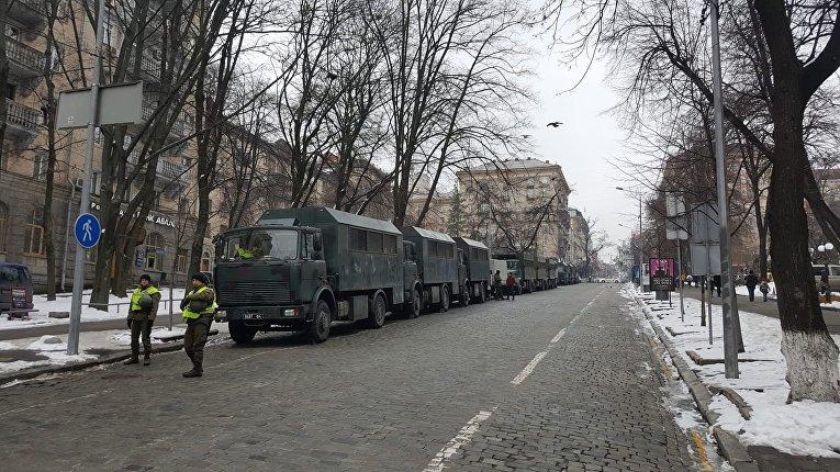 Ситуация в центре Киева