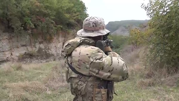 Сотрудник спецназа ФСБ