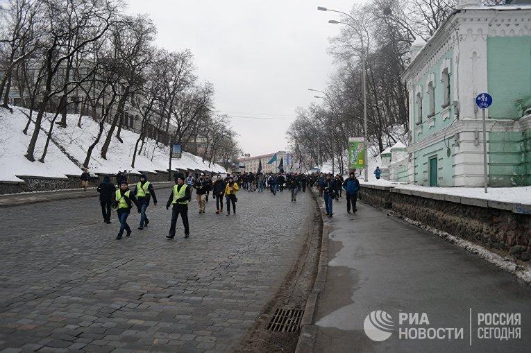 Активисты ОУН устроили погромы в Киеве