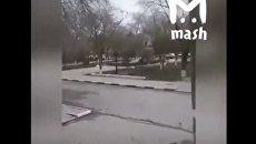 Расстрел людей возле церкви в Дагестане попал на камеры очевидцев. Видео