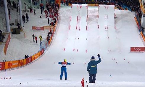 Золотой прыжок украинца Абраменко на Олимпиаде. Видео