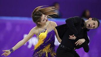 Александра Назарова и Максим Никитин в дебютном выступлении на Олимпийских играх