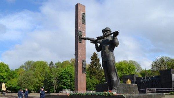 Стела Мемориала Славы во Львове