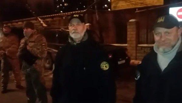 Силы обороны Украины охраняют Шевченковский райсуд Киева