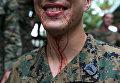 Военные учения по выживанию в джунглях