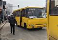 Работа маршруток в Киеве